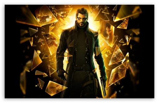 Download Deus Ex Human Revolution Pieces Of Glass UltraHD Wallpaper