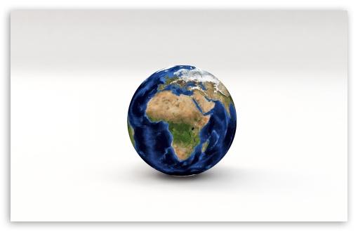 Download Earth Planet 3D Model Africa, Europe UltraHD Wallpaper