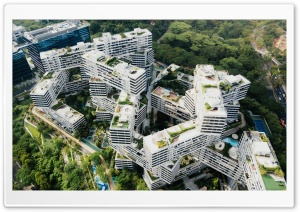 The Interlace Building...
