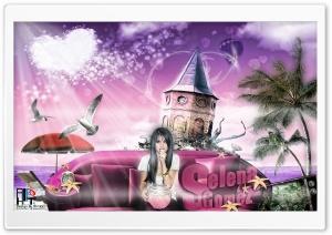 """"""" Selena Gomez In Island..."""