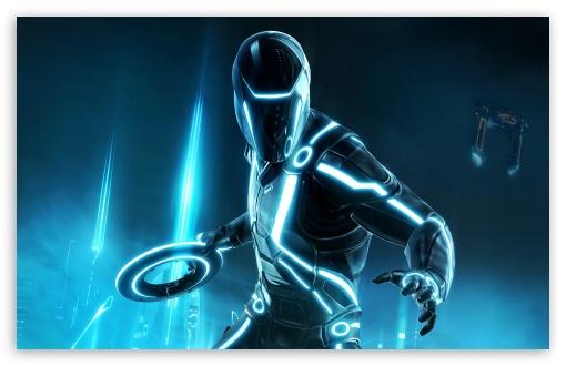 Download Tron Evolution UltraHD Wallpaper