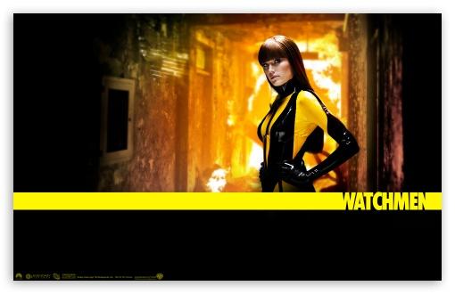 Download Malin Akerman As Silk Spectre In Watchmen UltraHD Wallpaper