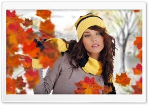 Girl Posing Autumn