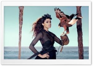 Woman, Eagle