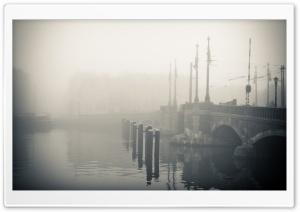 Misty Morning In Amsterdam