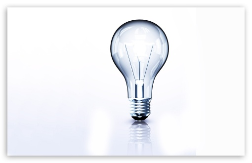Download Light Bulb UltraHD Wallpaper