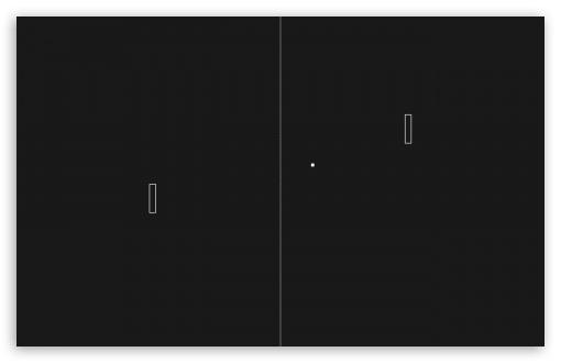 Download Pong Game UltraHD Wallpaper