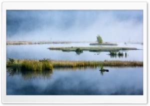 Lispach Lake, Mist, Nature