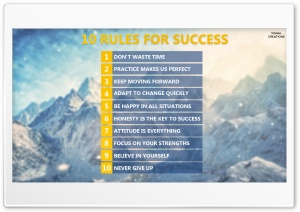 Ten Rules for Success