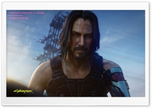 Cyberpunk 2077 Keanu Reeves...