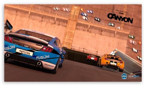 Download TrackMania 2 Canyon UltraHD Wallpaper