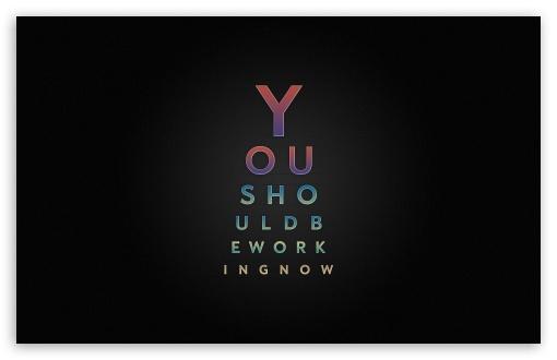 Download Work Typography Design UltraHD Wallpaper
