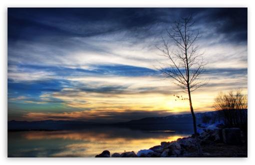 Download Utah Lake UltraHD Wallpaper