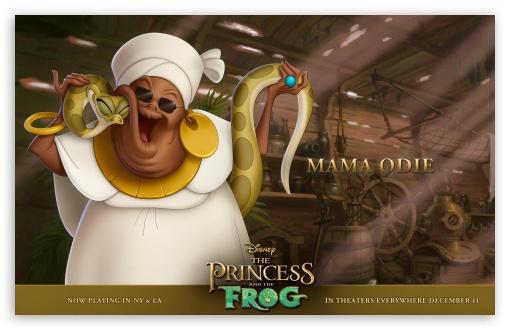 Download Princess And The Frog Mama Odie UltraHD Wallpaper