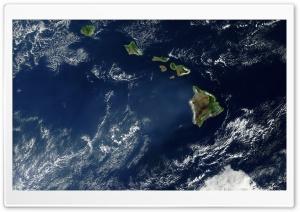 Hawaii Satelite View