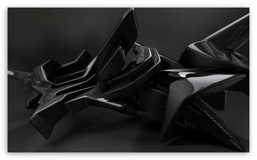 Download Amorphous 3D Design UltraHD Wallpaper