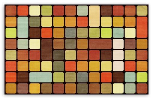 Download Rubiks Cube Squares Retro UltraHD Wallpaper