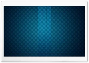 Glass On A Pattern   Blue