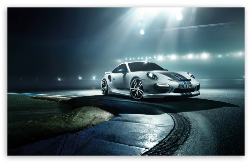 Download Porsche 911 Turbo 2014 Techart UltraHD Wallpaper