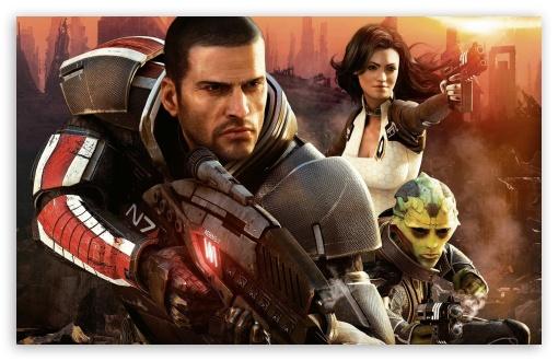 Download Mass Effect 2 UltraHD Wallpaper