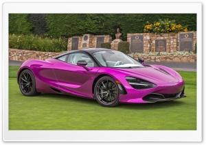 Pink Mclaren 720s 2017