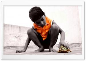 Child & Turtle