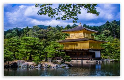 Download Golden Temple UltraHD Wallpaper