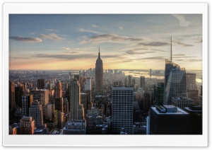 Aerial View Of Empire State...