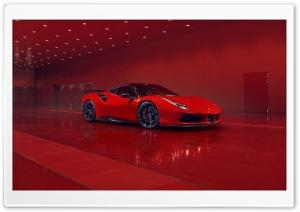 2018 Ferrari Red Car