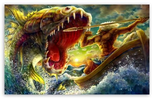 Download Dragons Crown Concept Art UltraHD Wallpaper