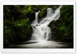 Mountain Waterfall Nature