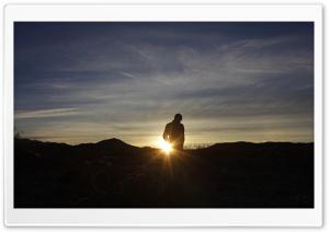 Admiring the Sunrise