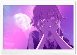 Gasai Yuno in the moonlight