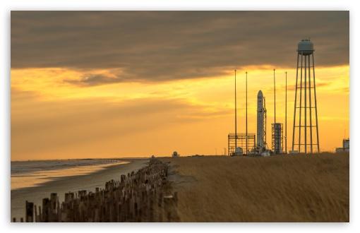 Download Antares Rocket UltraHD Wallpaper