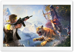 Far Cry 4 Weapons