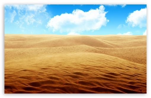 Download Desert - Sky UltraHD Wallpaper