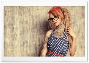 Devusa Tattoo Girl