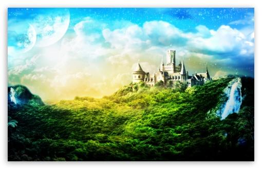 Download Charming Castle UltraHD Wallpaper