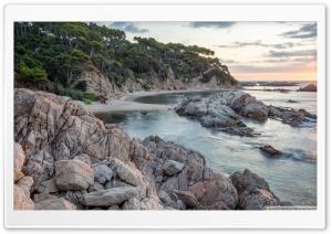 Sunrise at Cala Estreta...