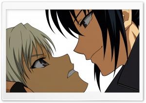 Anime Girl And Boy Fighting