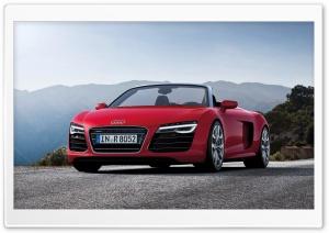 Audi R8 Spyder - 2013