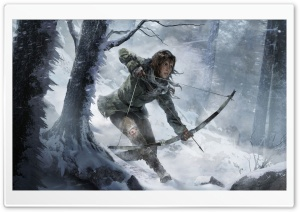 Rise of the Tomb Raider 2015...