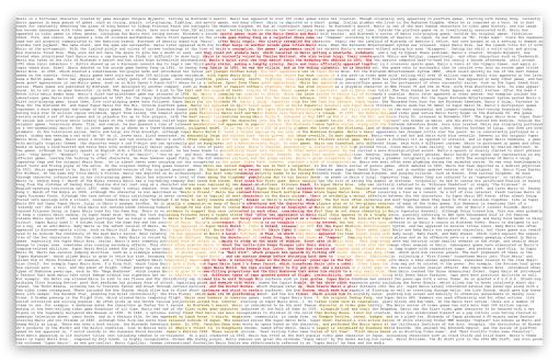 Download Mario Typography UltraHD Wallpaper