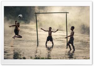 Football Player Jump