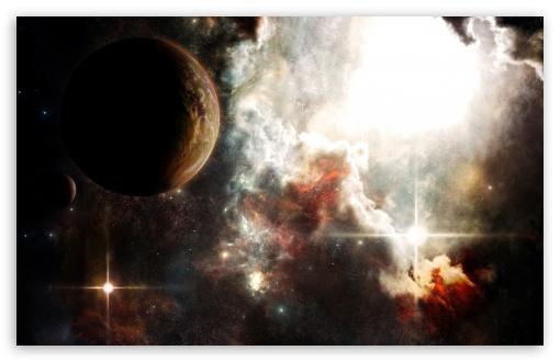 Download White Nebula UltraHD Wallpaper