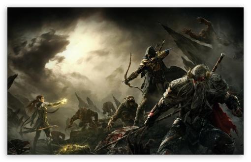 Download The Elder Scrolls Online Key Art UltraHD Wallpaper