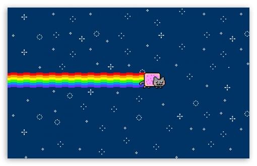 Download Nyan Cat UltraHD Wallpaper