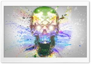 Skull-Splash Art
