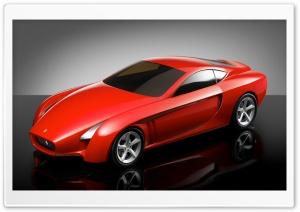 Red Ferrari 3D