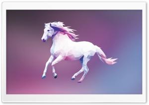 Horse Polygon Design